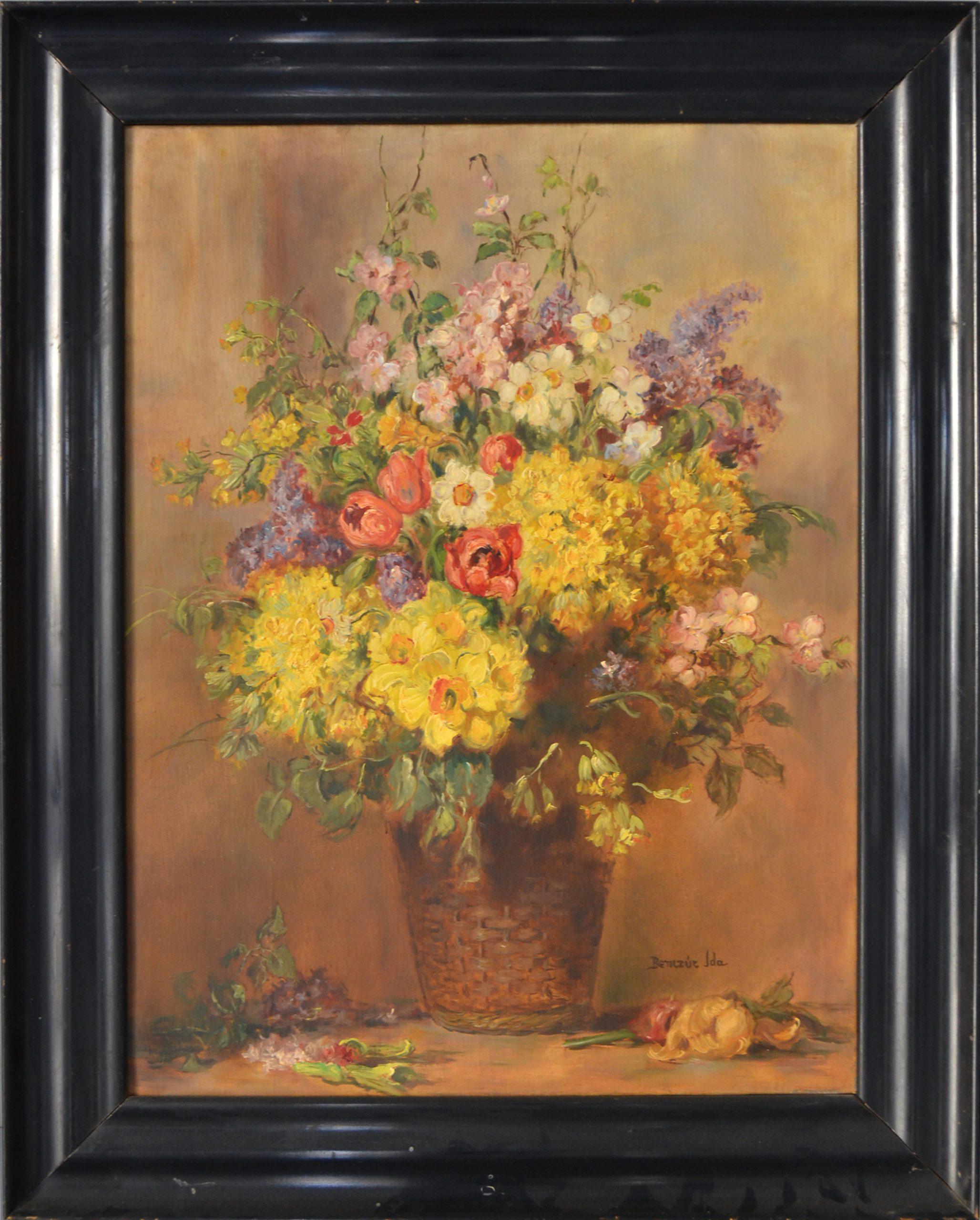 Benczúr Ida: Virágcsendélet