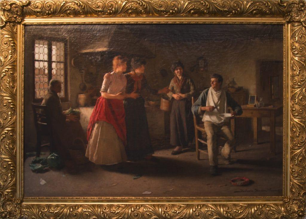 Bihari Sándor: Velencei konyha (Ahol nincs ott ne keress), 1887