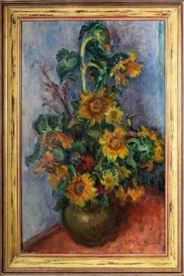 Graber Margit: Virágcsendélet