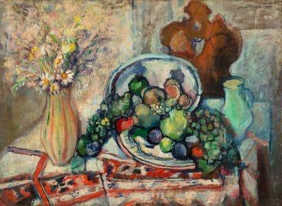 Glatter Gyula: Gyümölcs csendélet