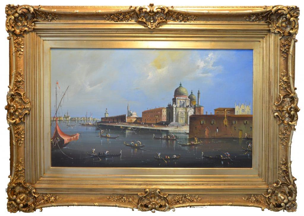 19. századi itáliai festőművész: Velence