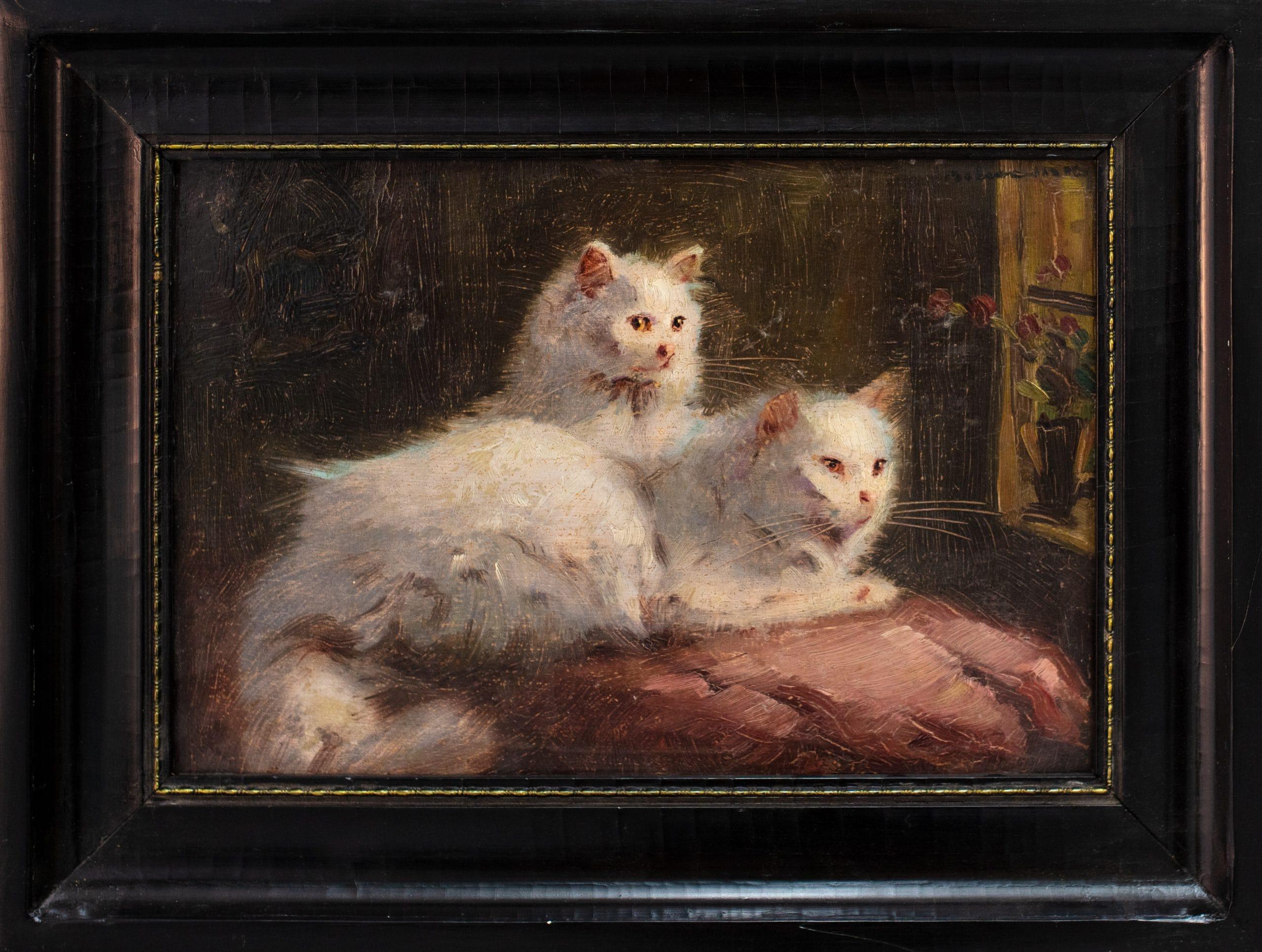 Boleradszky Benő: Macskák