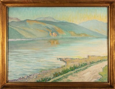 Lakatos Artúr: Duna a Marosnál, 1950
