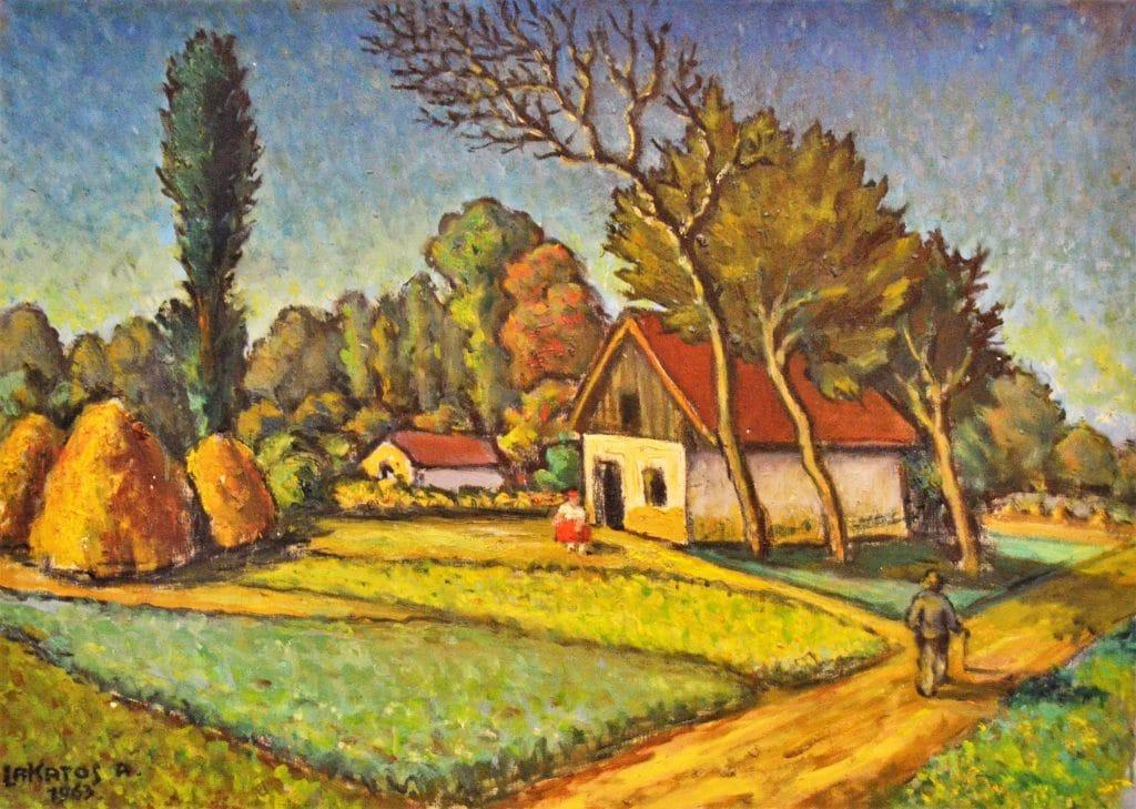 Lakatos Artúr: Méhes, 1963
