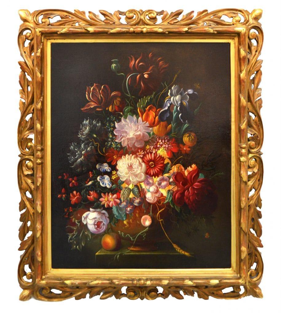 18. századi európai festőművész: Virágcsendélet
