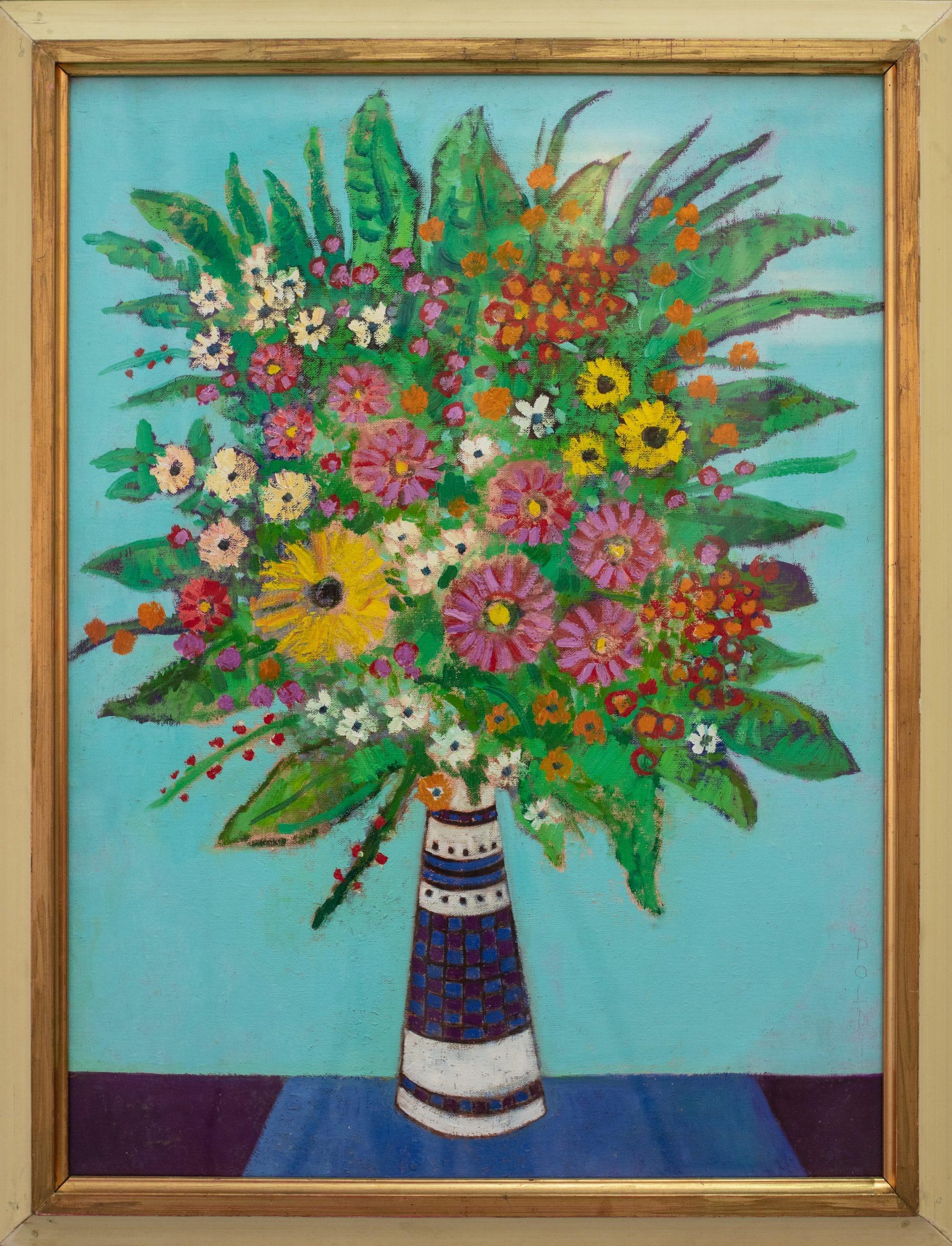 Bőhm Lipót: Virágcsendélet