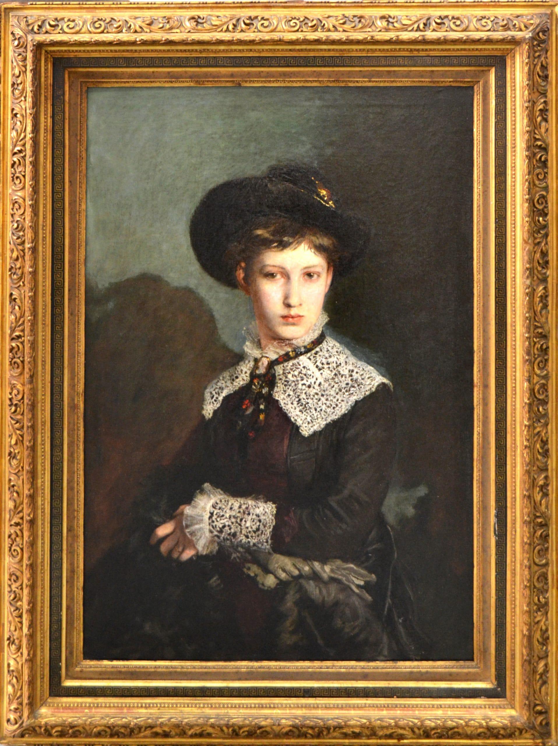 Greguss Imre: Greguss Erzsébet portréja