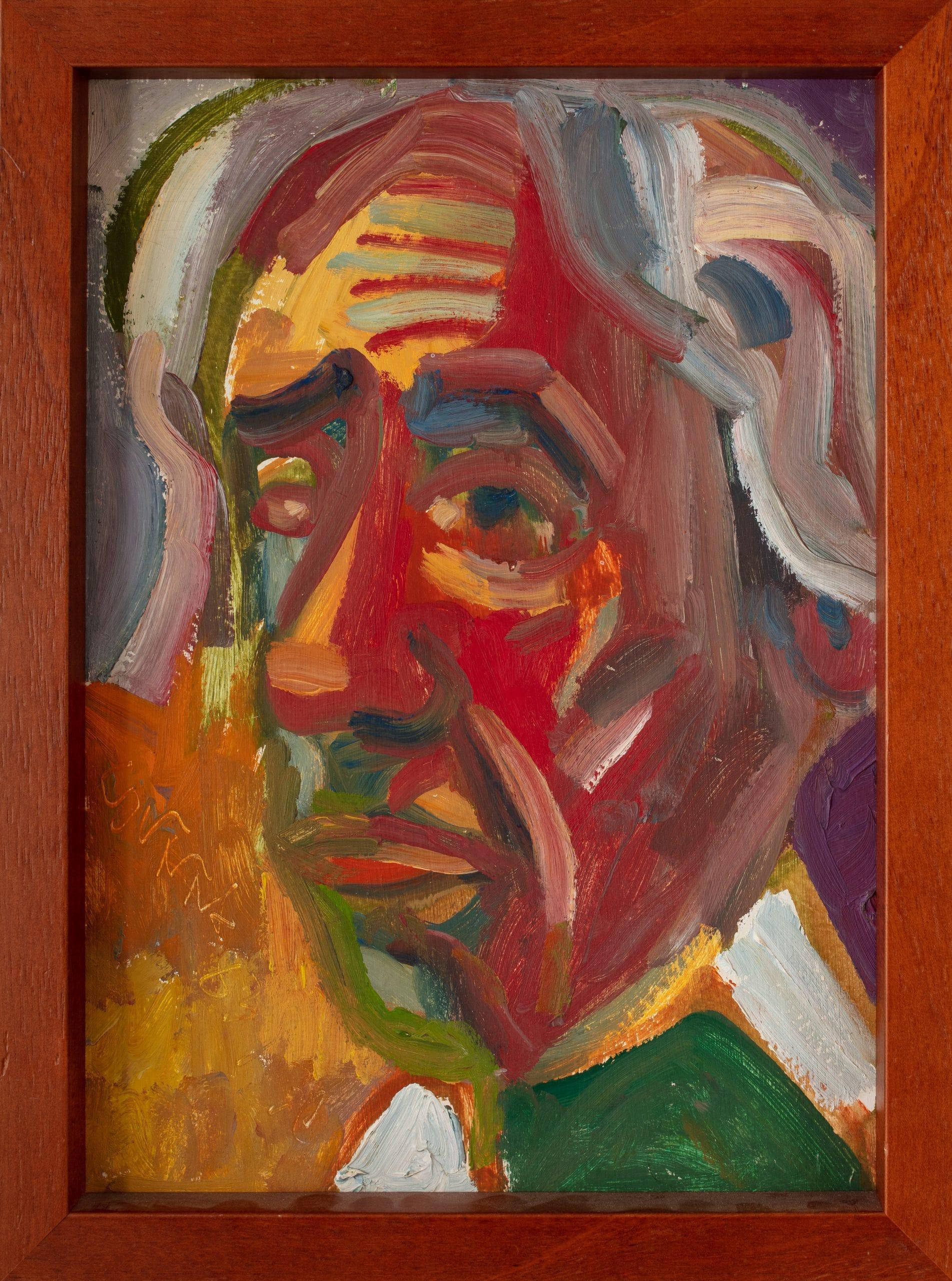 Németh Miklós: Önarckép, 1983