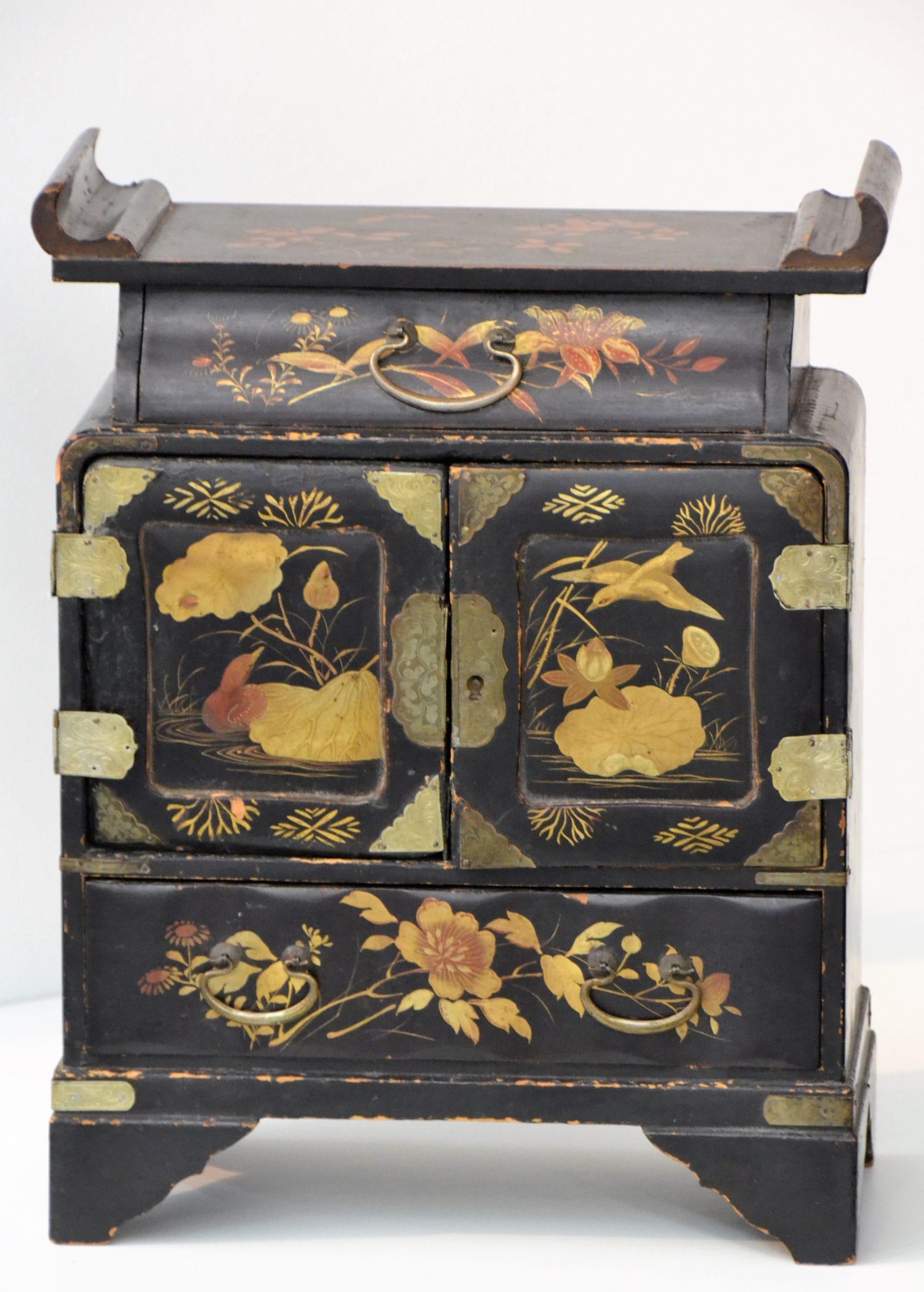 Kínaizáló Intarziás doboz