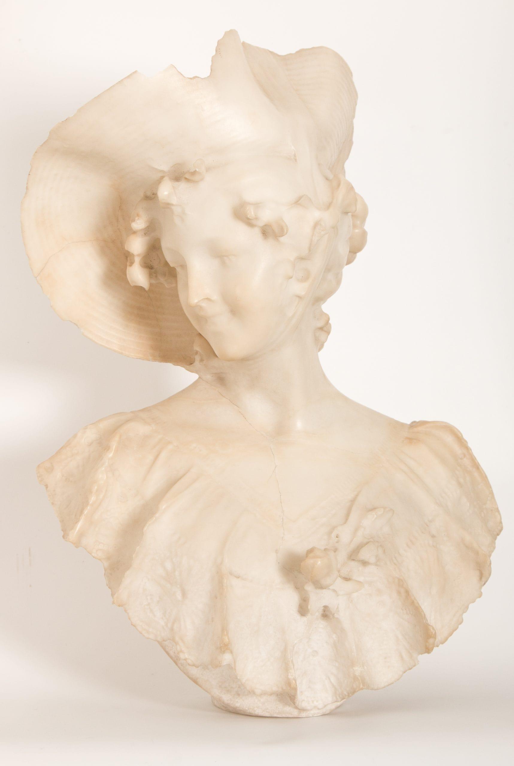 Európai szobrász: Női mellszobor