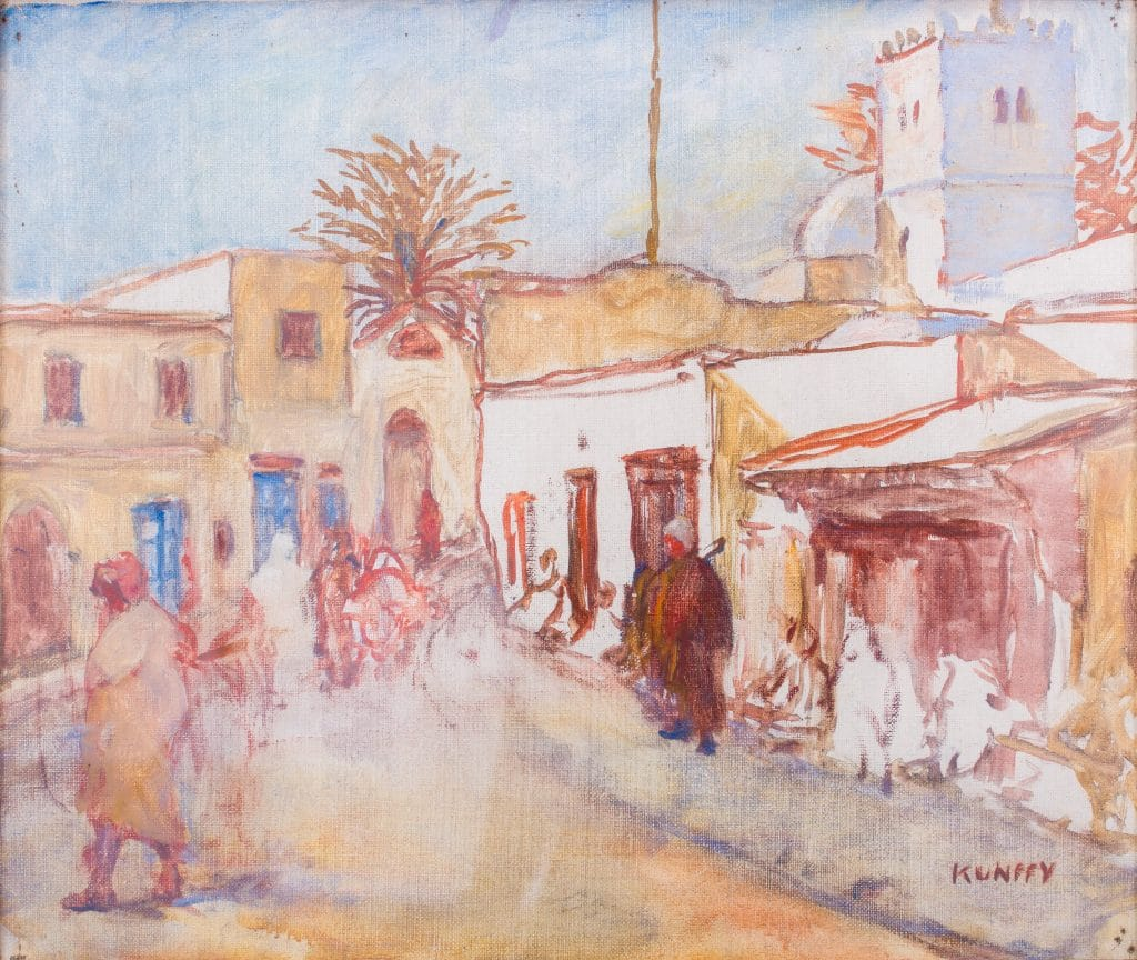 Kunffy Lajos: Tuniszi utca