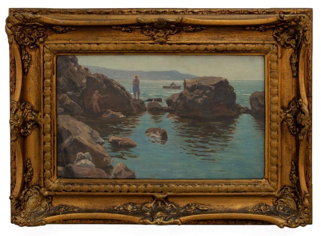 Nádler Róbert: Nápolyi tengerpart