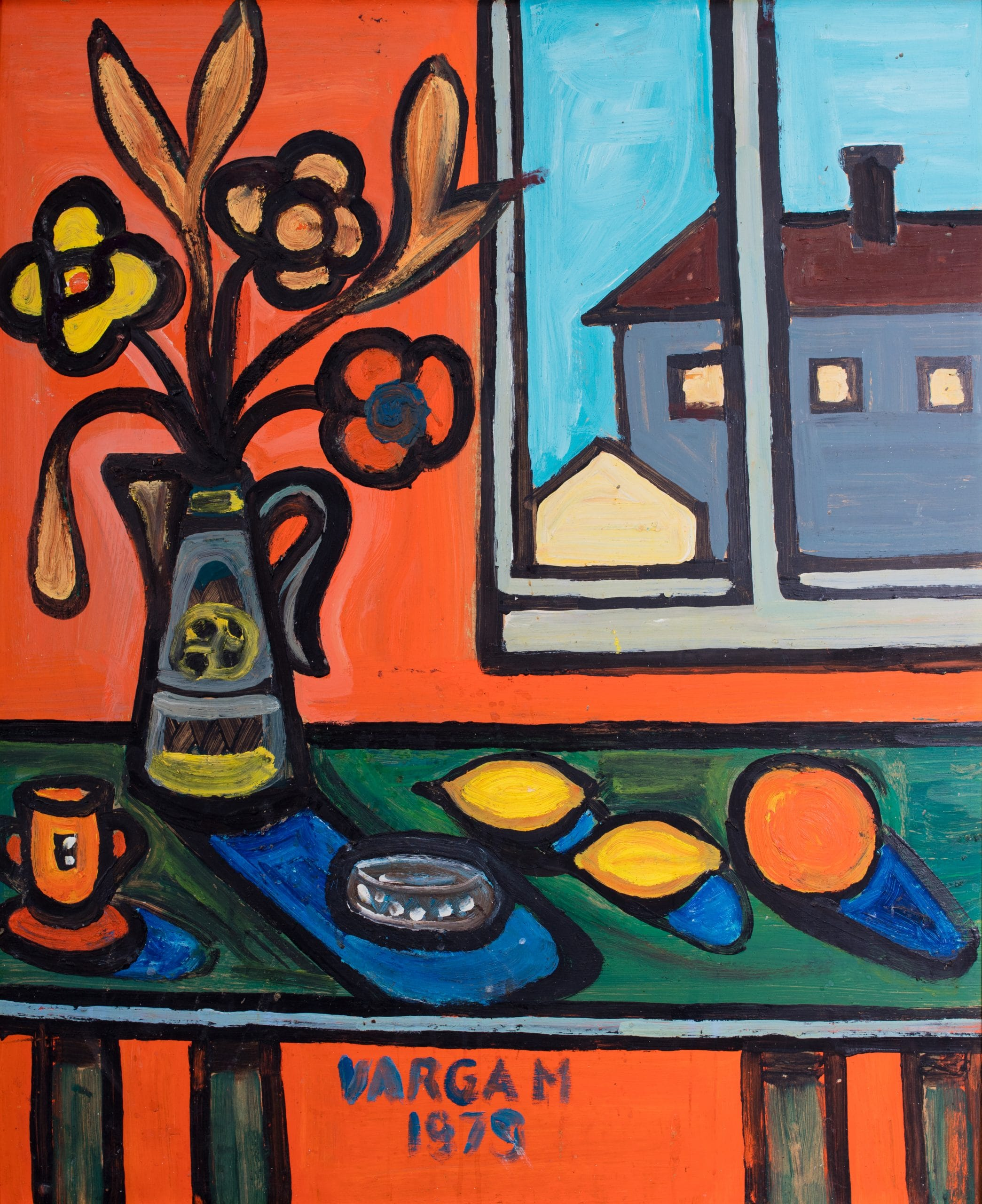 Varga Magda: Ablakban, 1979
