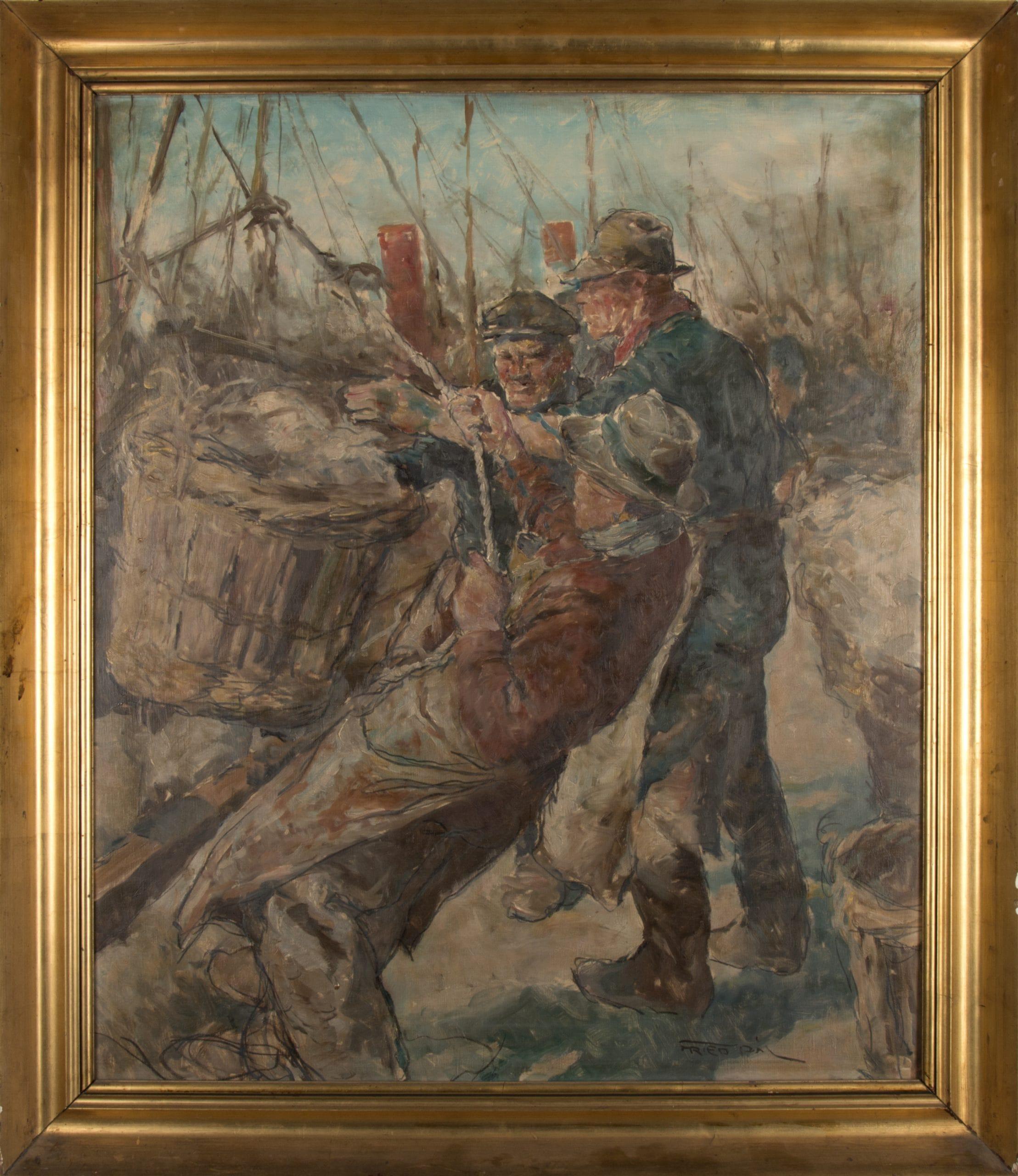 Fried Pál: Halászok
