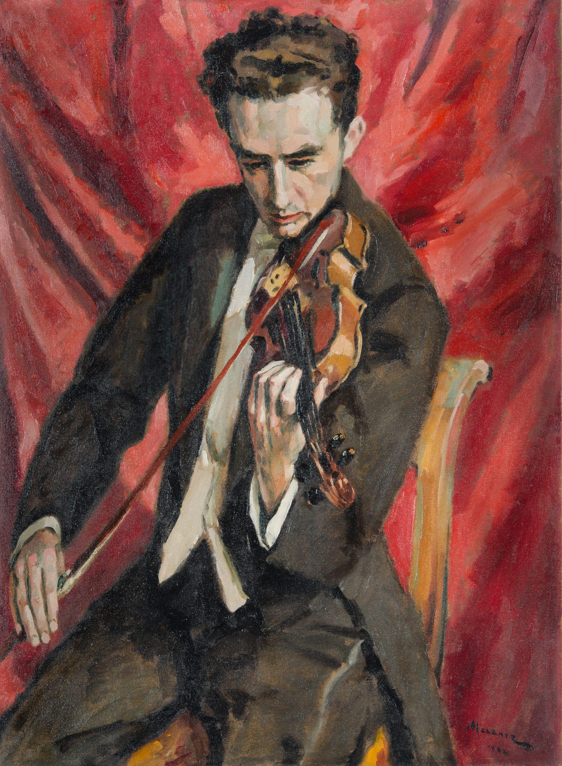 Meczner Lajos: Hegedűművész, 1922