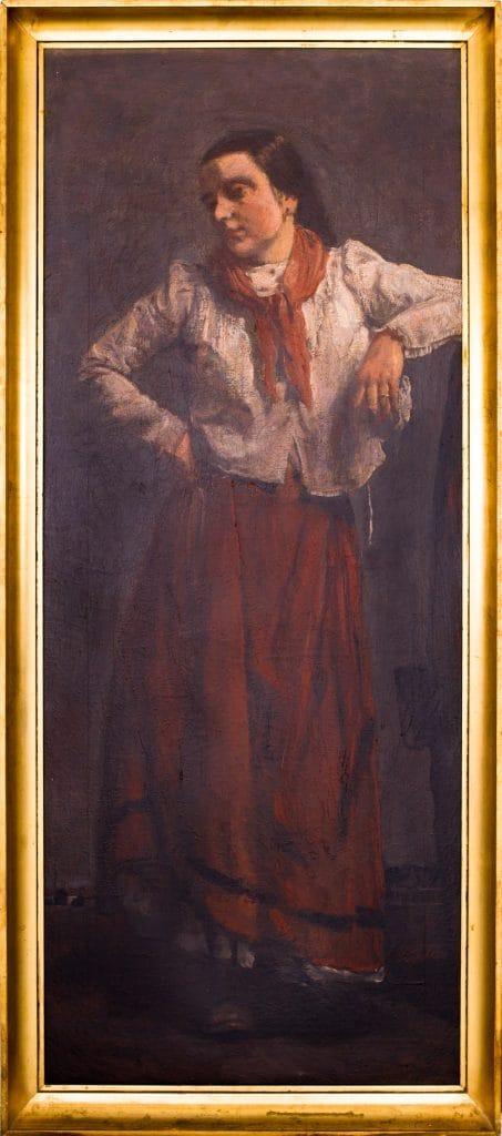 Szüle Péter: Álló női portré