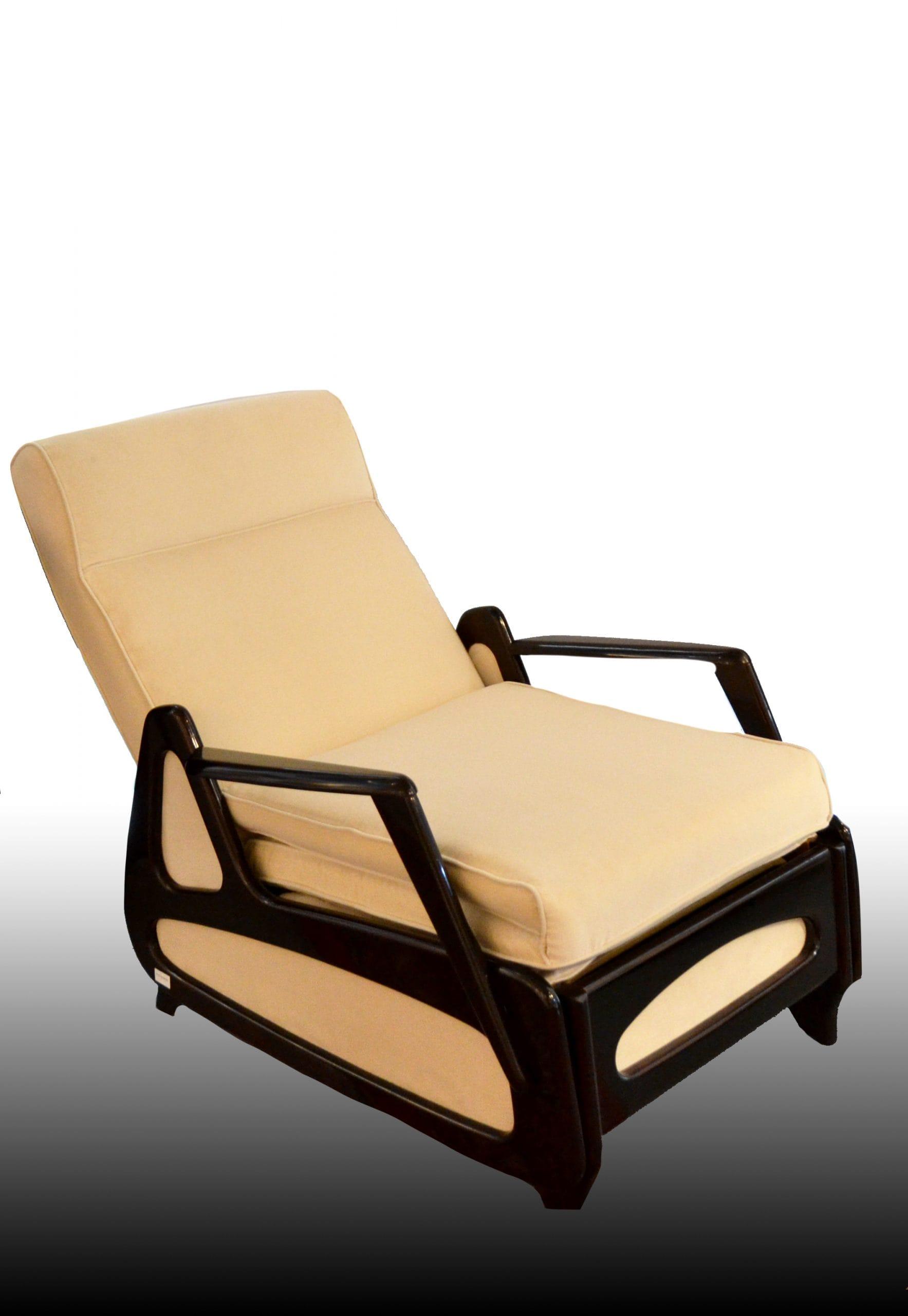Art deco kinyitható fotel 1930-40-es évekből
