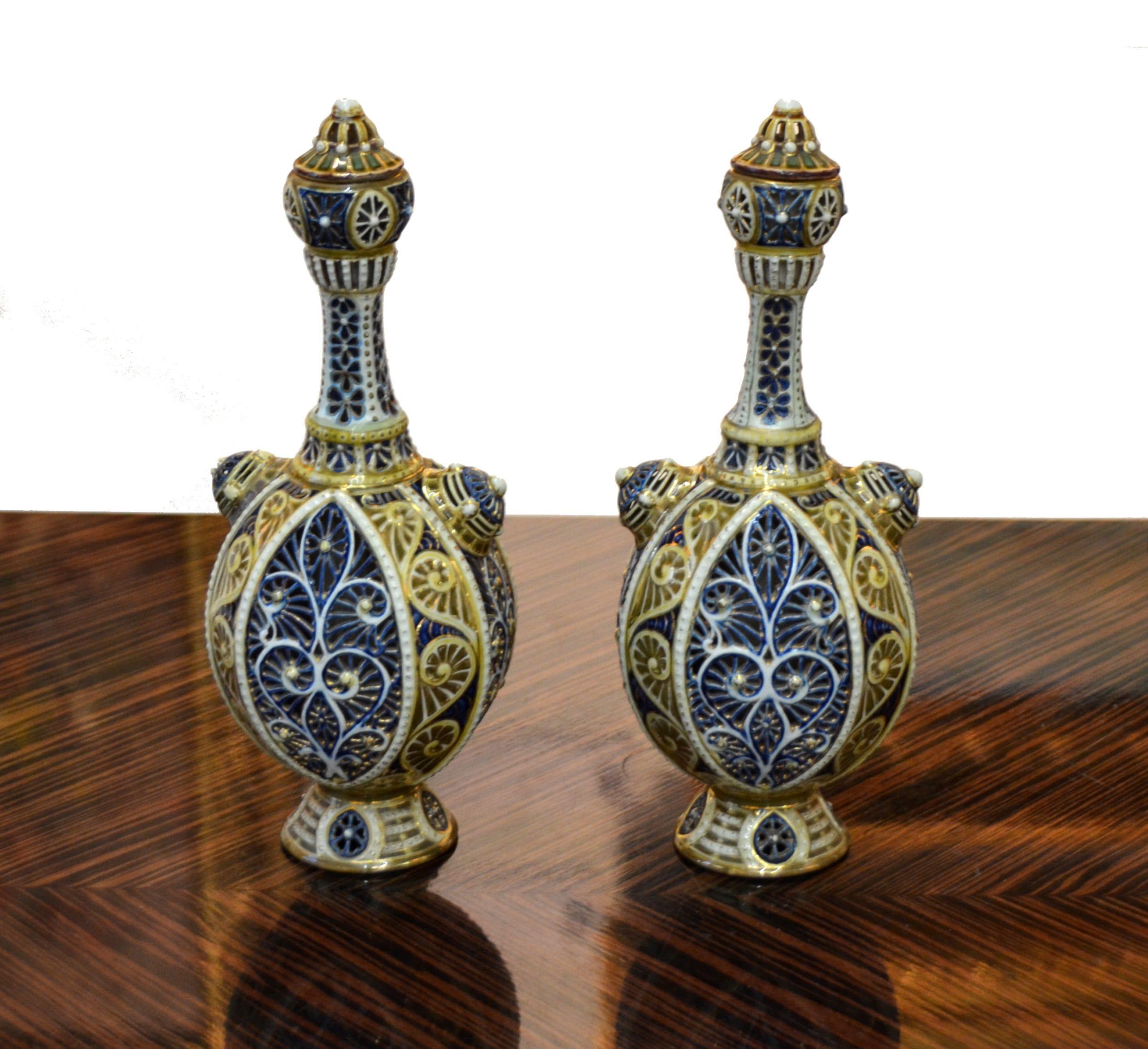Zsolnay páros váza