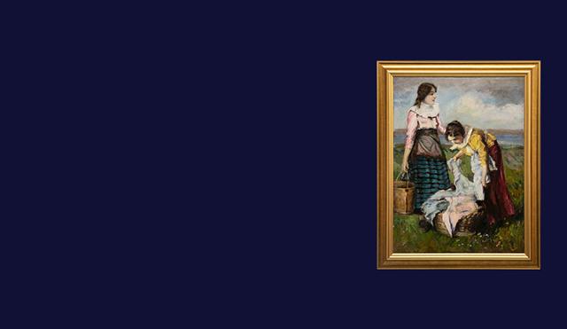 19th Century Hungarian Paintings