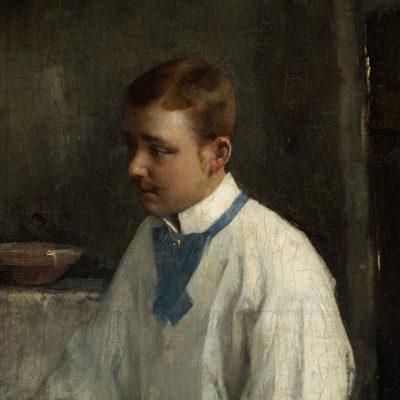 Révész Imre: Szavalás, 1885